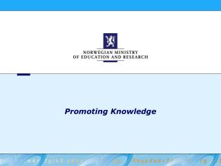 Promoting Knowledge