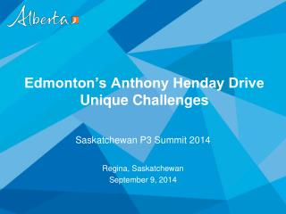 Edmonton's Anthony Henday Drive Unique Challenges