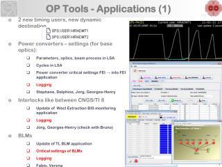 OP Tools - Applications (1)