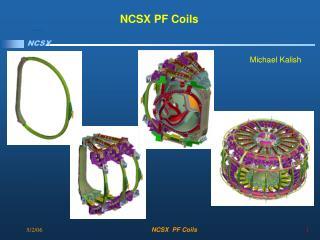 NCSX PF Coils