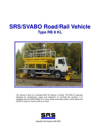 SRS/SVABO Road/Rail Vehicle Type RB 8 KL