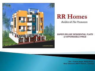 RR Homes Builders & Flat Promoters