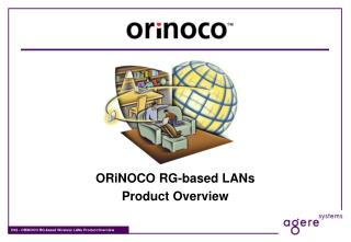 ORiNOCO RG-based LANs Product Overview
