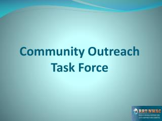 Community Outreach Task Force