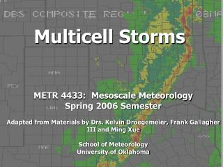 Multicell Storms