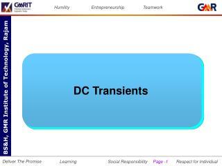 DC Transients