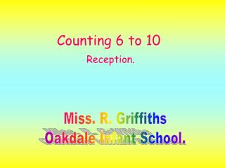 Counting 6 to 10