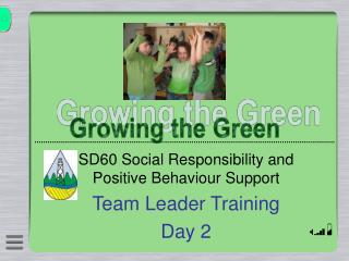 SD60 Social Responsibility and Positive Behaviour Support Team Leader Training Day 2