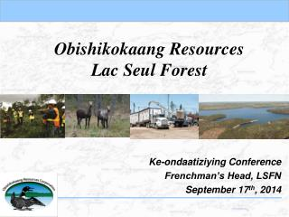 Obishikokaang  Resources Lac  Seul  Forest