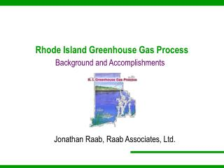 Rhode Island Greenhouse Gas Process