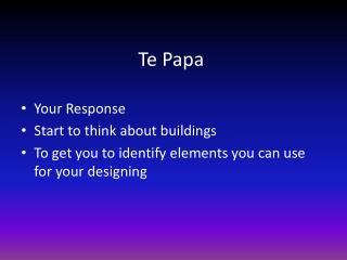 Te Papa