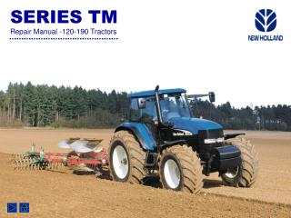 SERIES TM Repair Manual -120-190 Tractors