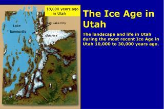 Intro- The Ice Age in Utah
