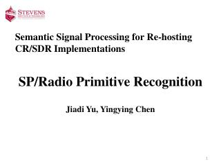 Semantic Signal Processing for Re-hosting CR/SDR Implementations