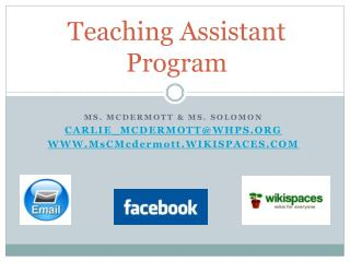 Teaching Assistant Program