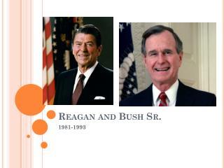 Reagan and Bush Sr.