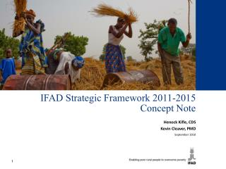 IFAD Strategic Framework 2011-2015 Concept Note