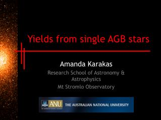 Yields from single AGB stars