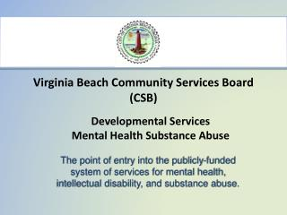 Virginia Beach Community Services Board (CSB)