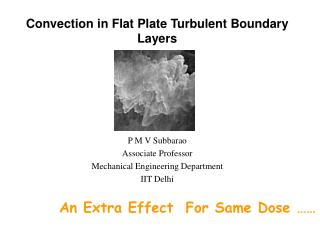 Convection in Flat Plate Turbulent Boundary Layers