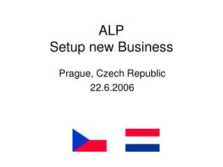 ALP Setup new Business