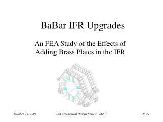 BaBar IFR Upgrades