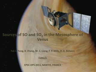 Sources of SO and SO 2  in the Mesosphere of Venus