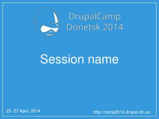 Session name