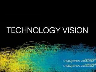 DPT SESION XV TECHNOLOGY VISION