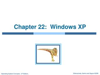 Chapter 22:  Windows XP