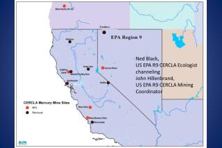 Ned Black,  US EPA R9 CERCLA Ecologist channeling John Hillenbrand, US EPA R9 CERCLA Mining