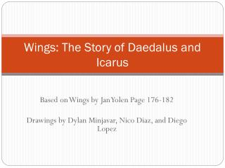 Wings: The Story of Daedalus and Icarus