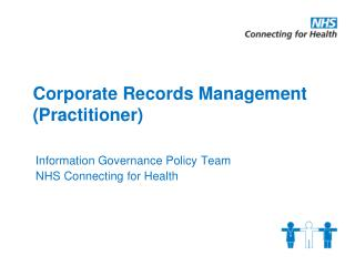 Corporate Records Management (Practitioner)