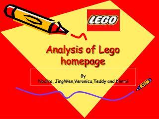 Analysis of Lego homepage
