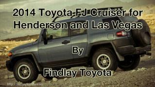 ppt 41972 2014 Toyota FJ Cruiser for Henderson and Las Vegas