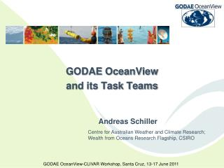 GODAE OceanView and its Task Teams