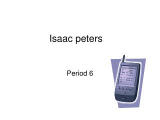 Isaac peters