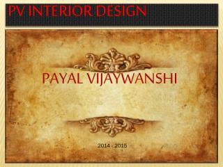 PV INTERIOR DESIGN