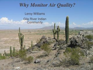 Why Monitor Air Quality?