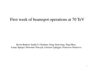 Kevin Burkett,  Sushil  S.  Chauhan ,  Geng -Yuan  Jeng , Ting Miao,