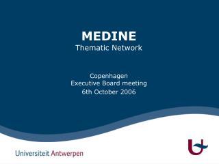 MEDINE Thematic Network