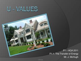 U - values