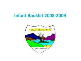Infant Booklet 2008-2009