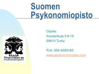 Suomen Psykonomiopisto