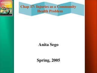 Anita Sego Spring, 2005