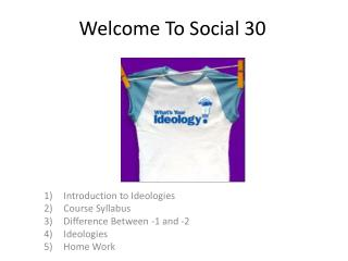 Welcome To Social 30