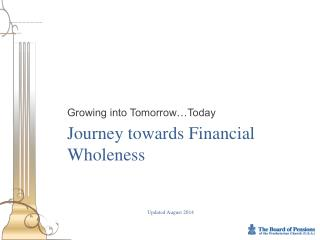 Journey towards Financial Wholeness