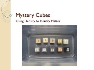 Mystery Cubes