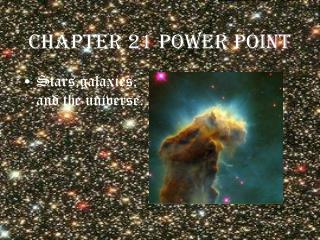 Chapter 21 power point
