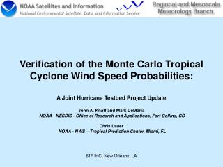 Verification of the Monte Carlo Tropical Cyclone Wind Speed Probabilities: